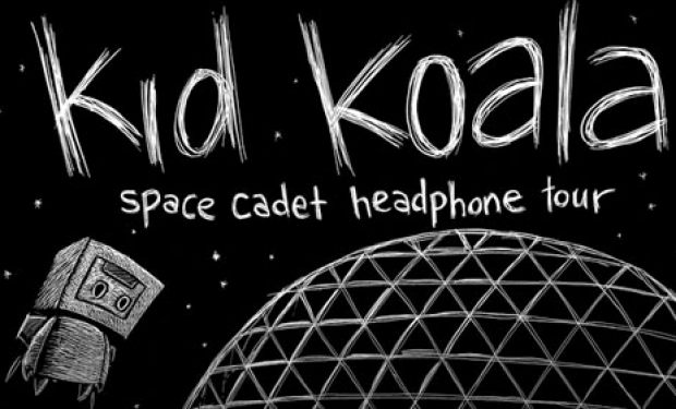 2011.11.15 - Kid Koala - Space Cadet Headphone Concert @ Minnemeers Theatre – 7PM Gent, Belgium  KidKoala