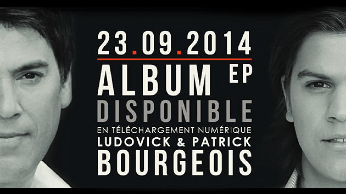 Le nouvel album éponyme de Ludovick et Patrick Bourgeois disponible en téléchargement