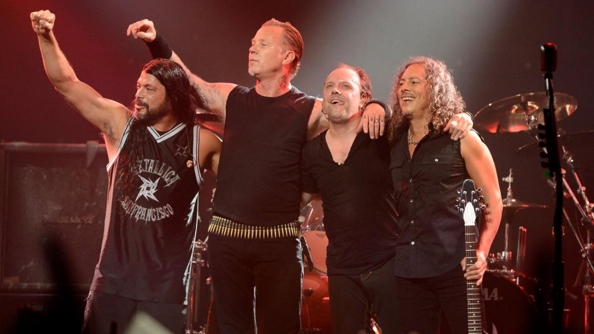 Metallica – Photo : Frazer Harrison/Getty Images 2013