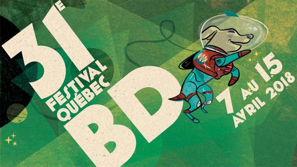 Le 9e art s'anime au Salon International du livre de Québec grâce au 31e Festival Québec BD