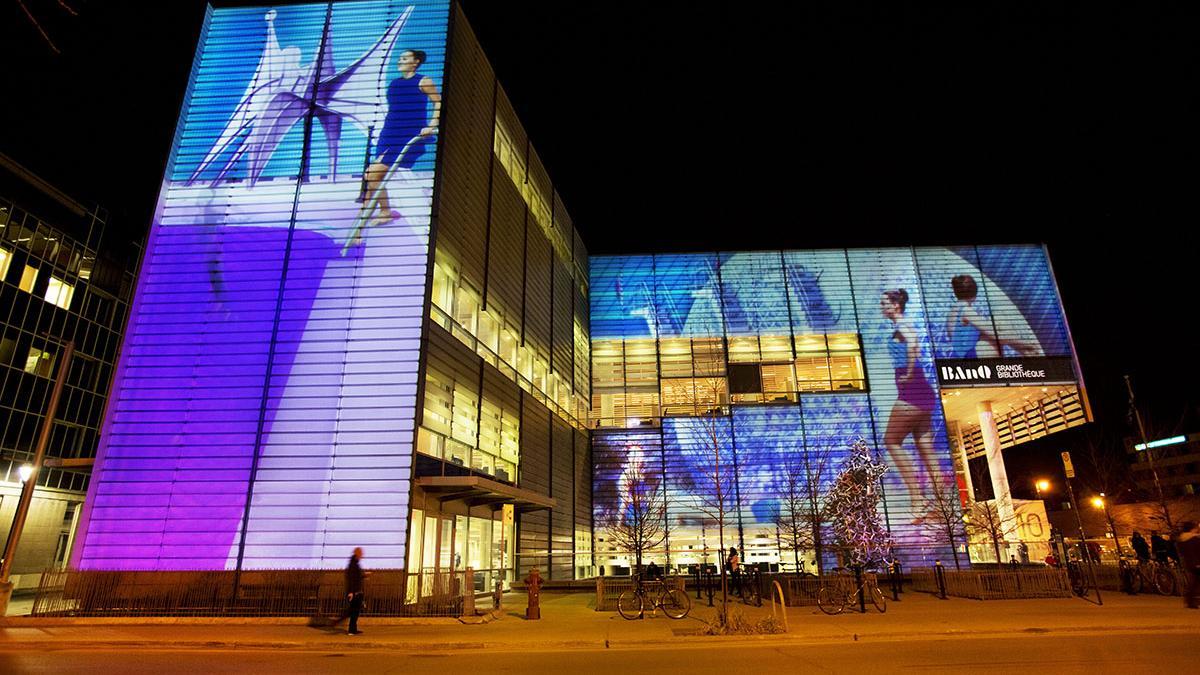 9 x [MTL] - La Grande Bibliothèque. Photo : Martine Doyon