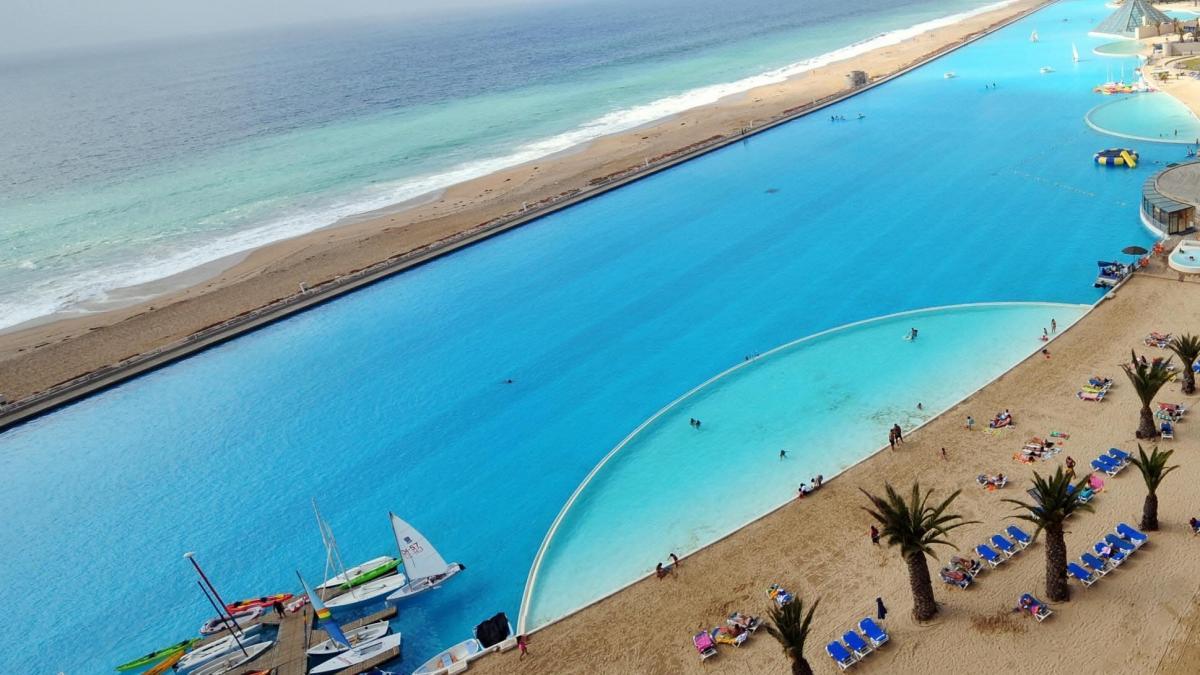 La plus grande piscine au monde - La plus grande piscine du monde ...