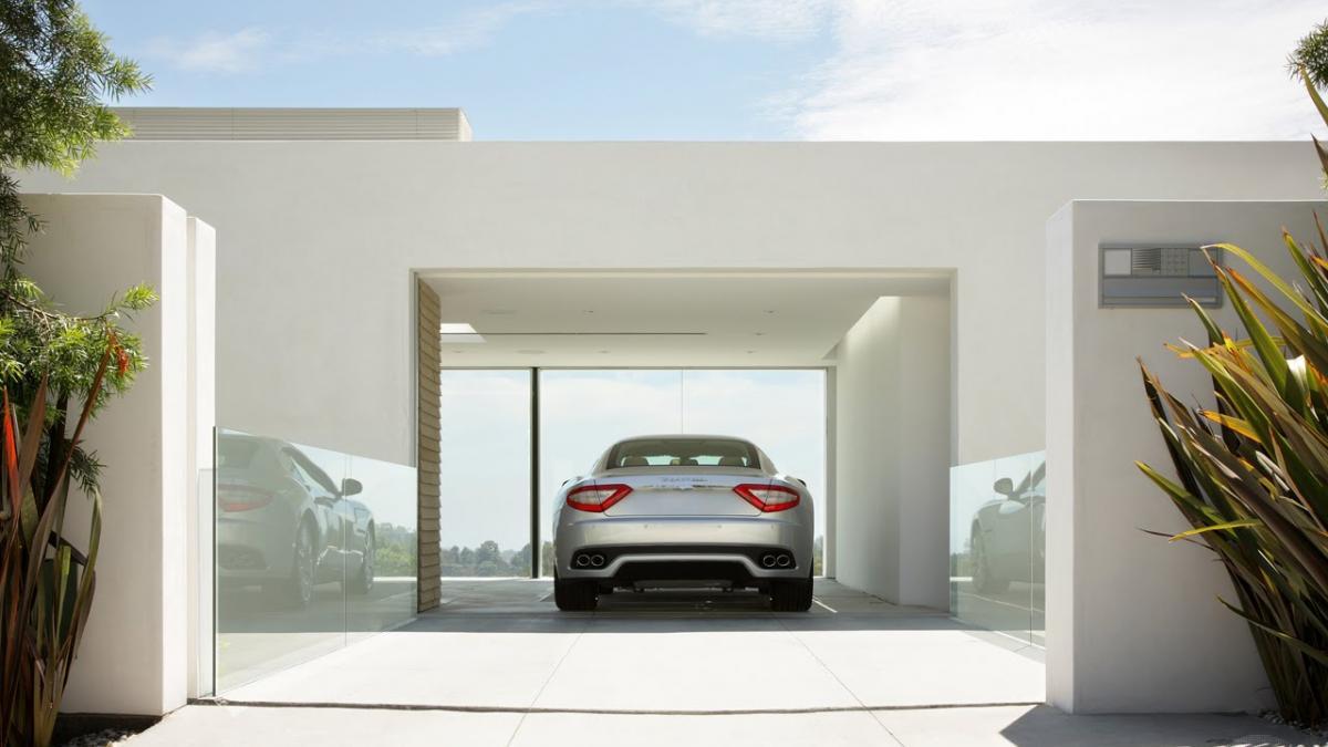 Le garage bénéficie à son tour des dernières innovations en termes de technologie et de design