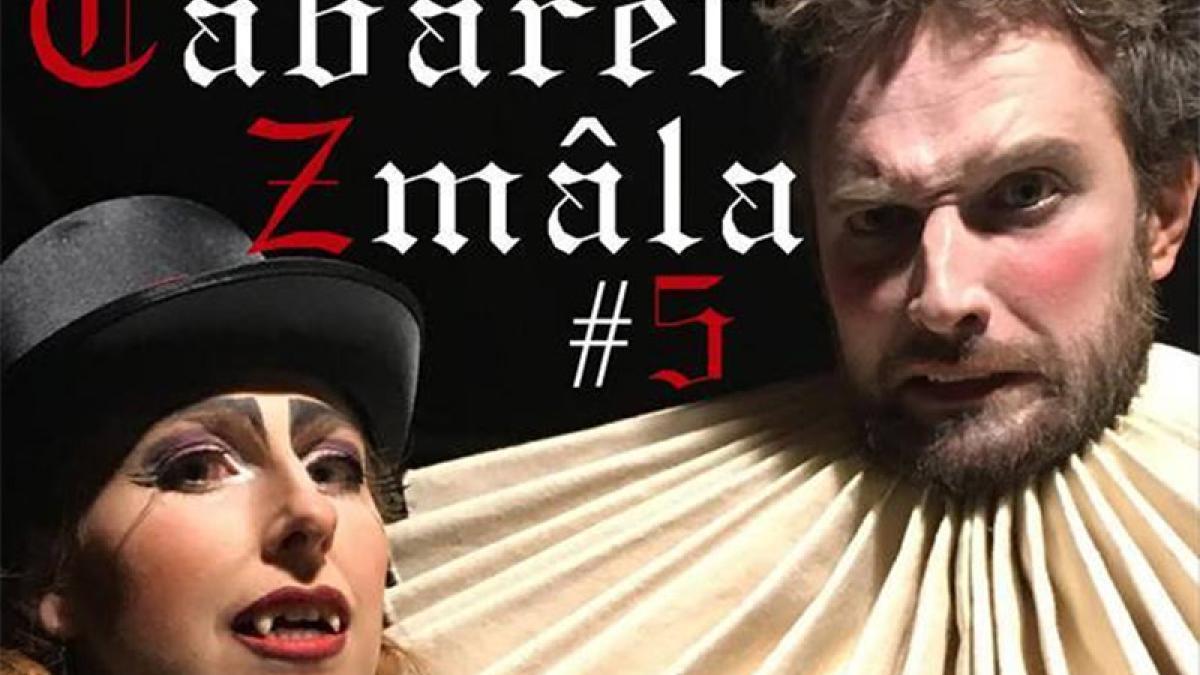 Cabaret Zmâla d'Halloween à la coop Caravane