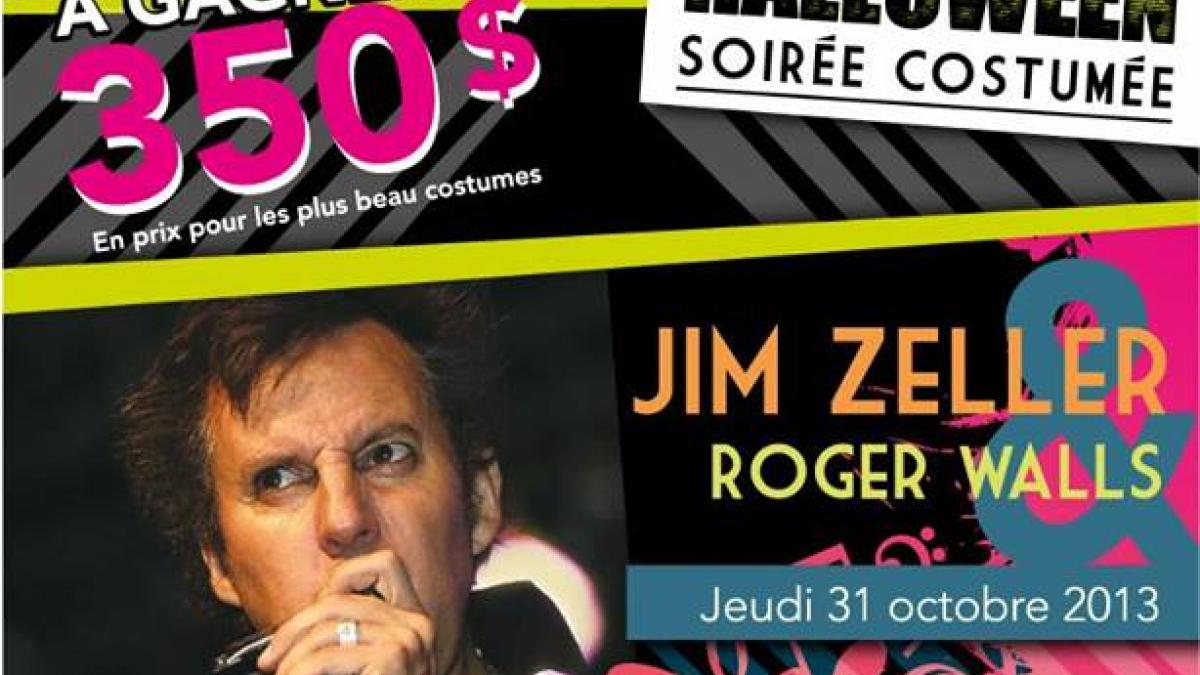 Souper-spectacle d'Halloween avec Jim Zeller