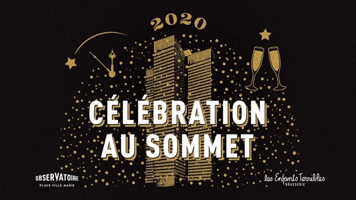 Célébration au sommet à l'Observatoire Place Ville-Marie