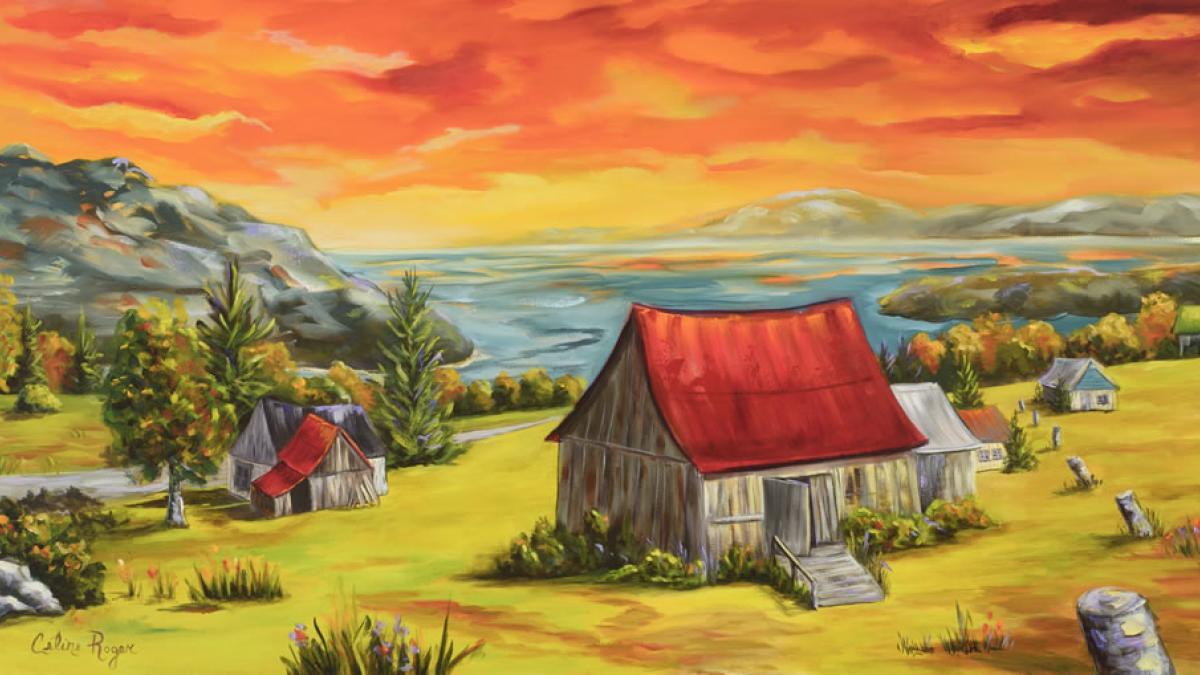 Dans les couleurs de Céline Roger: portes ouvertes à Sherbrooke les 7 et 8 décembre