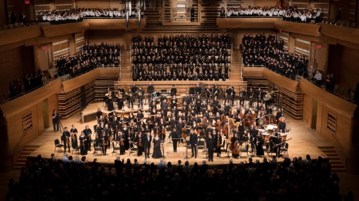 Le concert du Conservatoire de musique de Montréal mars 2019