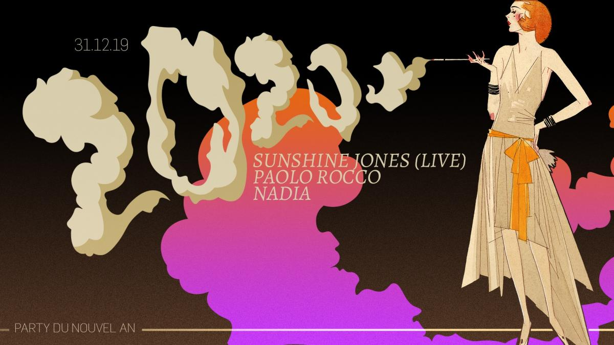 Le Salon Daomé présente Nadia, Paolo Rocco et Sunshine Jones (live)
