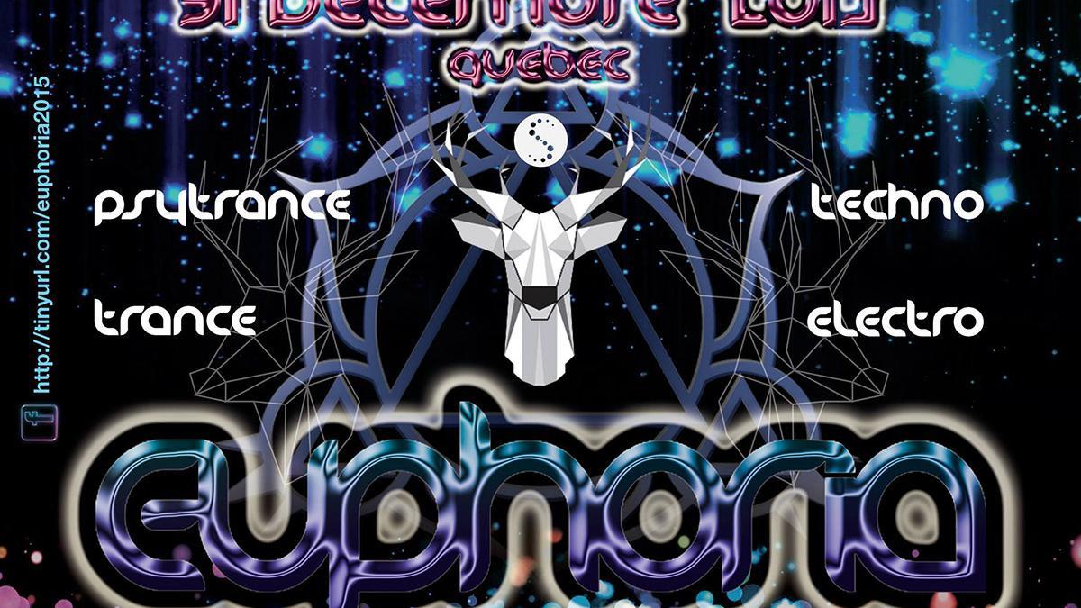 Euphoria – Party techno trance à Saint-Étienne