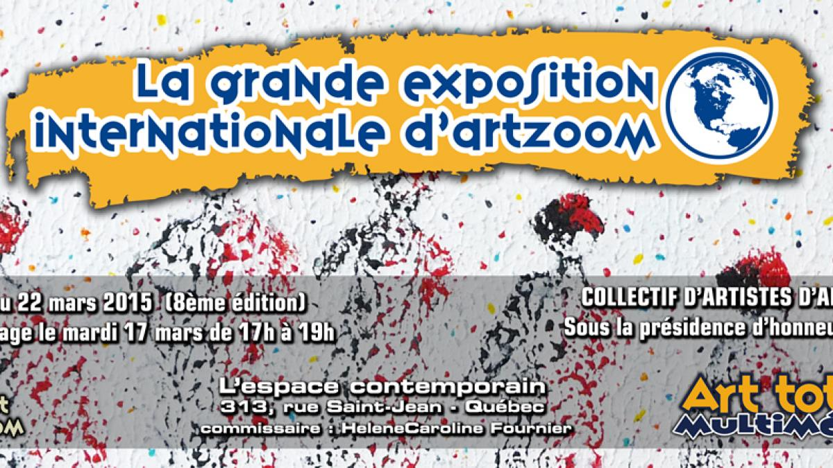 8ème édition de La Grande Exposition Internationale d'ArtZoom
