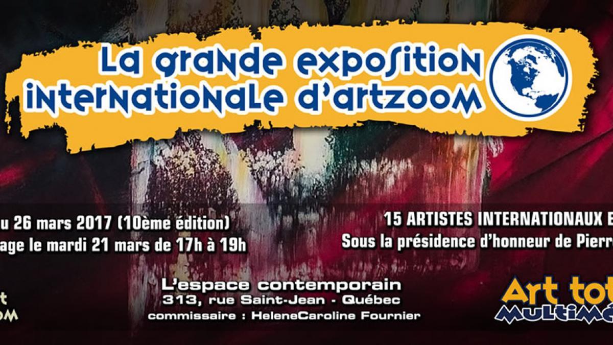 La Grande Exposition Internationale d'ArtZoom 10ème édition