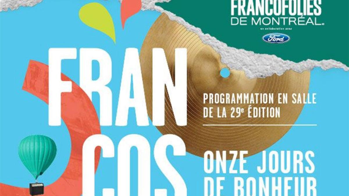 FrancoFolies de Montréal 2017 : la programmation en salle est dévoilée