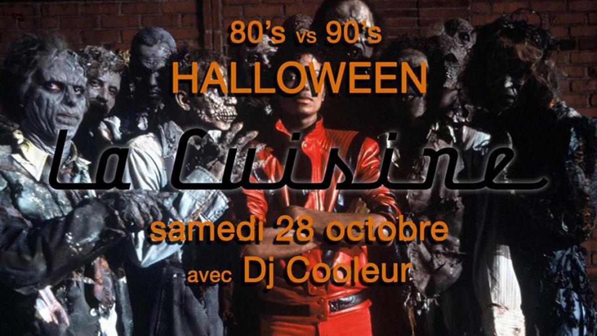 Halloween 80's vs 90's à La Cuisine