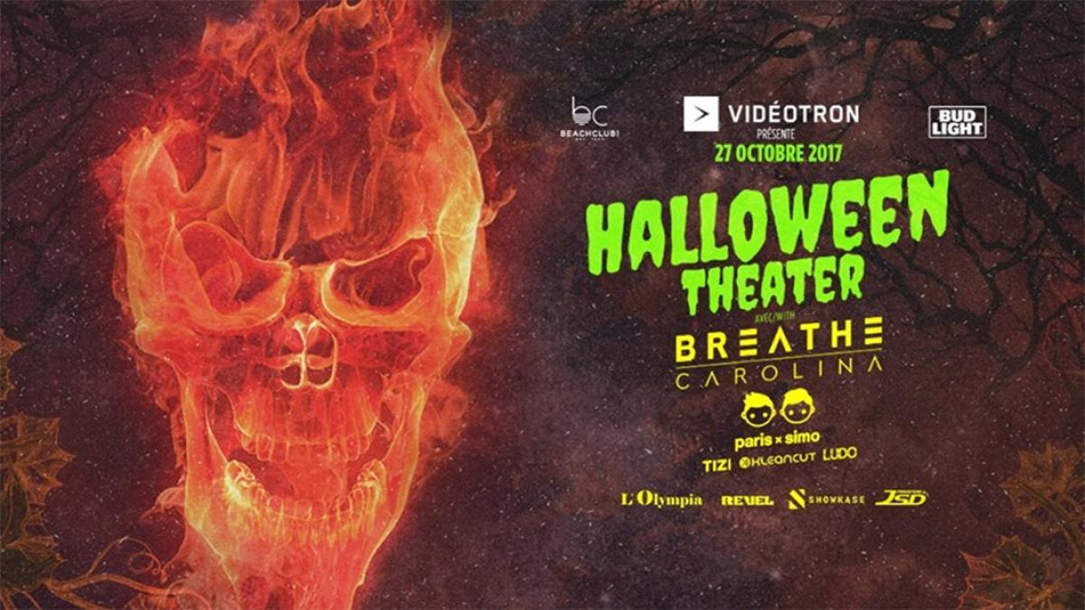 Halloween Theater à L'Olympia