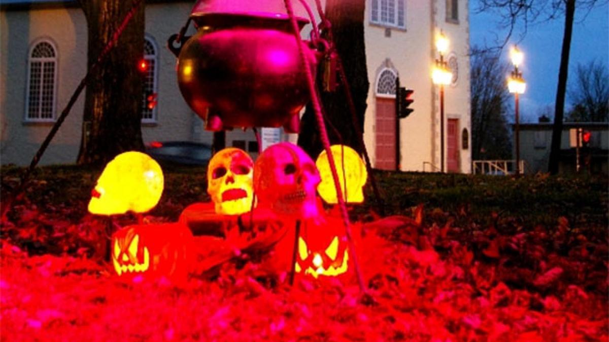 Festival de l'Halloween à Charlesbourg les 31 octobre et 1er novembre