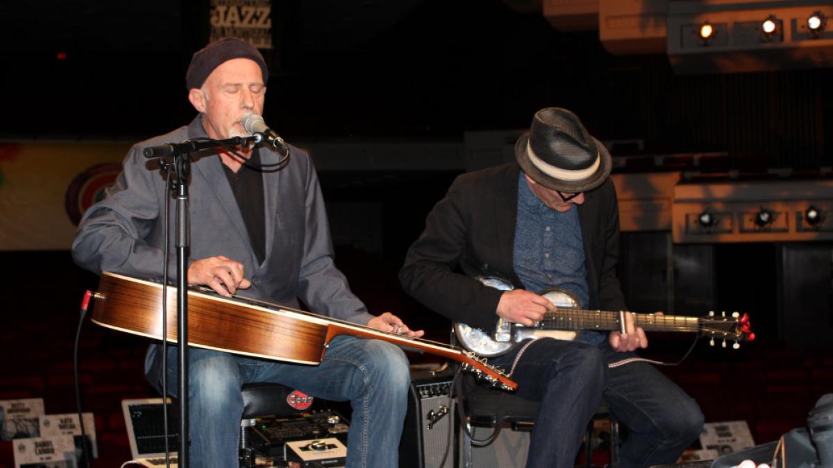 FIJM 2014 - Harry Manx et Kevin Breit