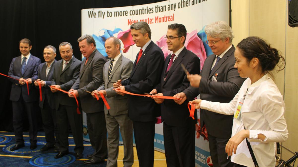 Inauguration Turkish Airlines