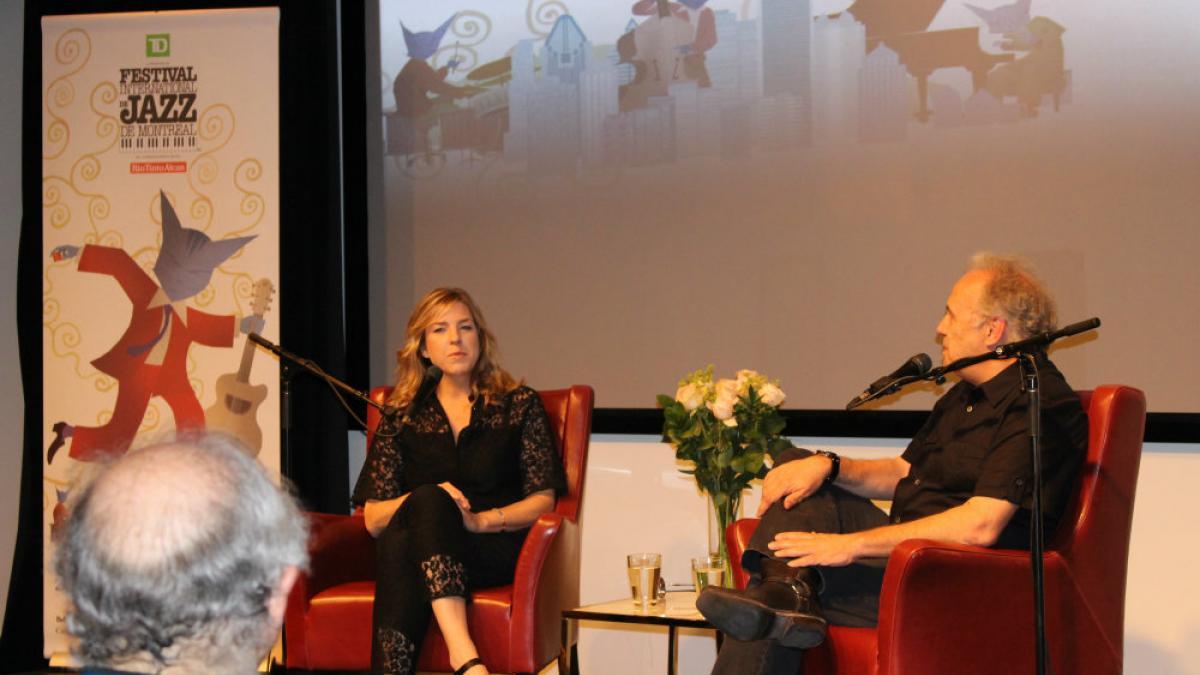 Conférence de presse Diana Krall FIJM