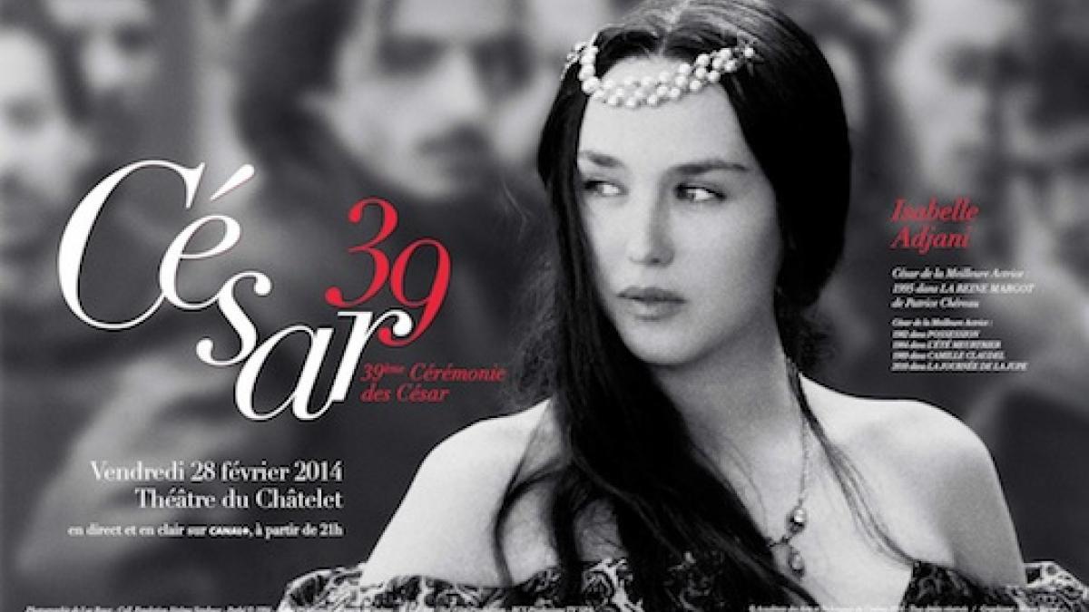 Affiche 39e Nuit des César Isabelle Adjani