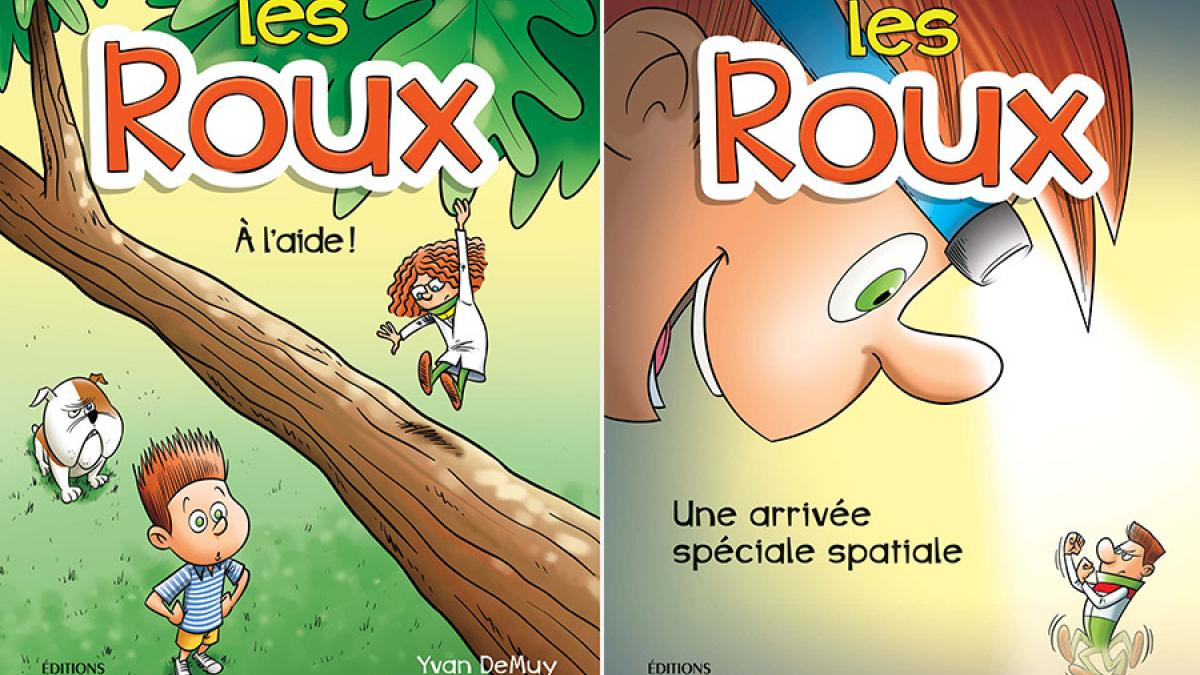 Les Roux – Une nouvelle série jeunesse aux éditions Michel Quintin