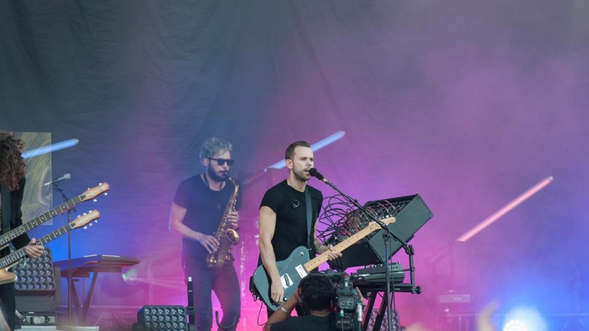 M83 - Osheaga 2016 - Crédit photo : Dominique Caron