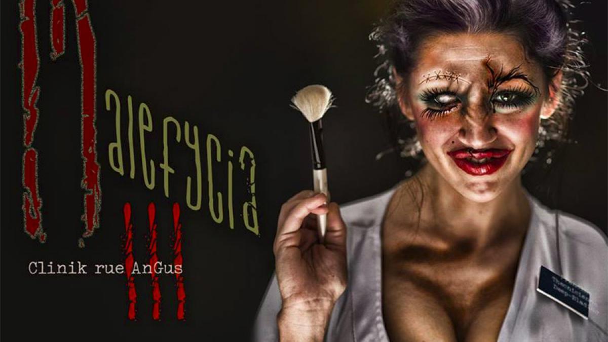 Malefycia III – La clinique de l'horreur présentée sur la rue Angus du 13 au 31 octobre