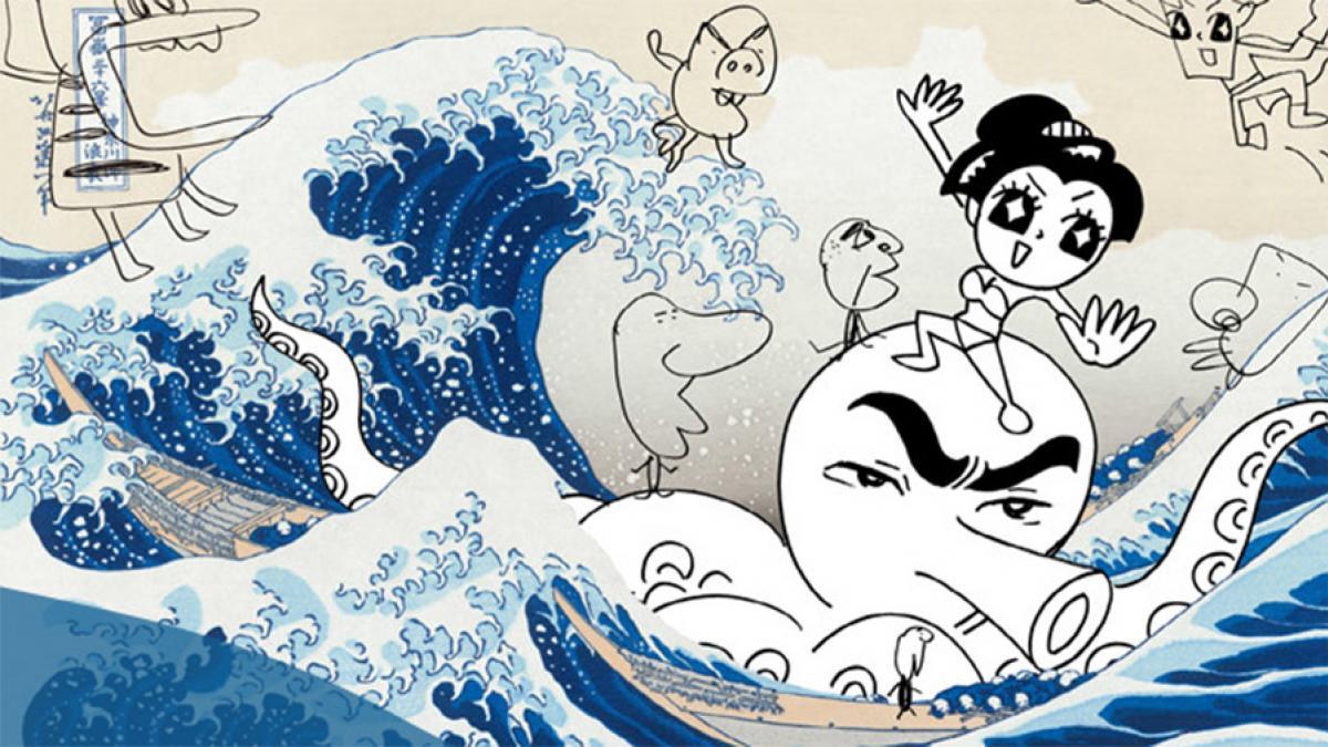 L'exposition Manga Hokusai Manga présentée à Montréal jusqu'au 5 janvier