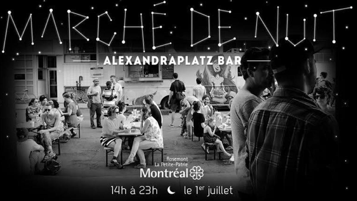 Le marché de nuit du Mile-Ex revient à Alexandraplatz ce samedi