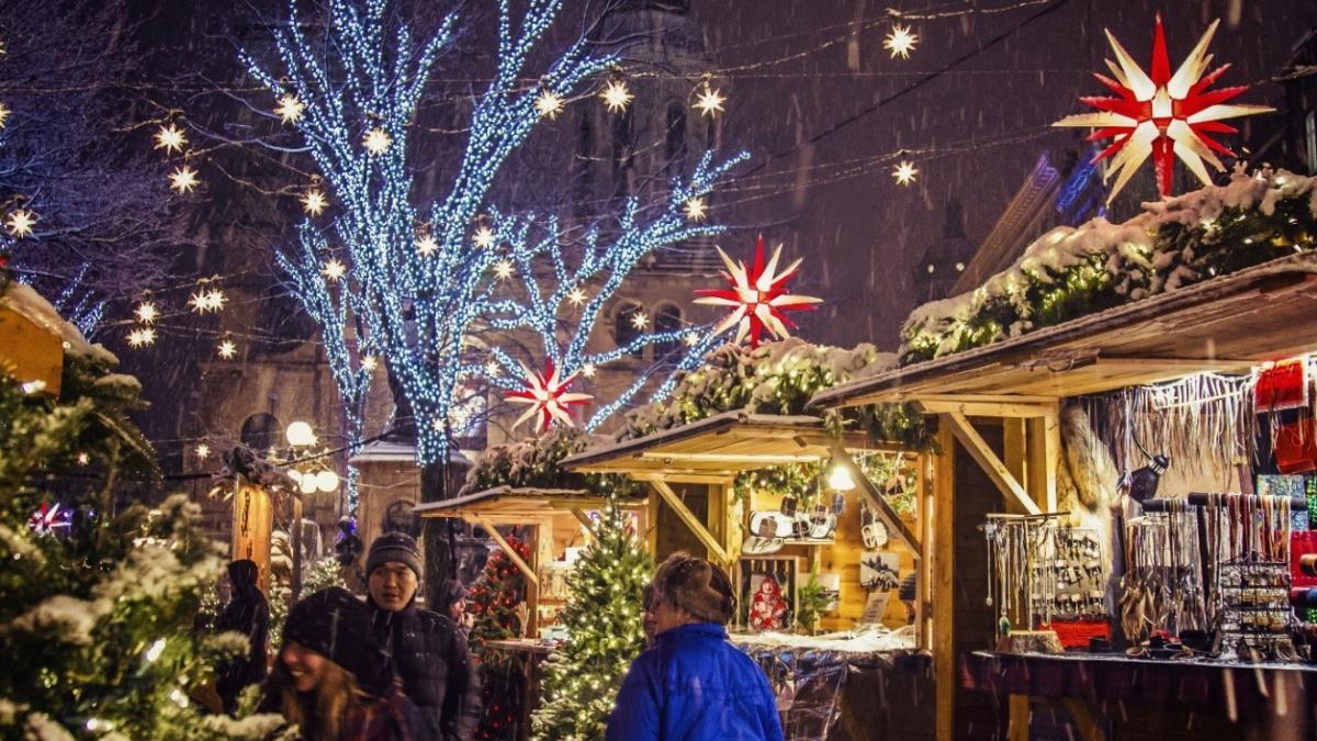 Marché de Noël allemand de Québec – Photo: Geneviève Roussel