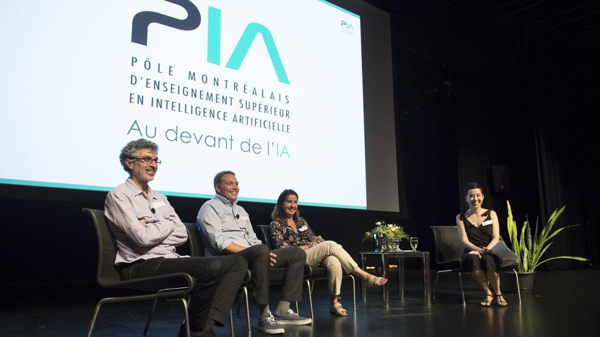 Des cégeps et universités de Montréal créent un pôle de formation supérieure en intelligence artificielle