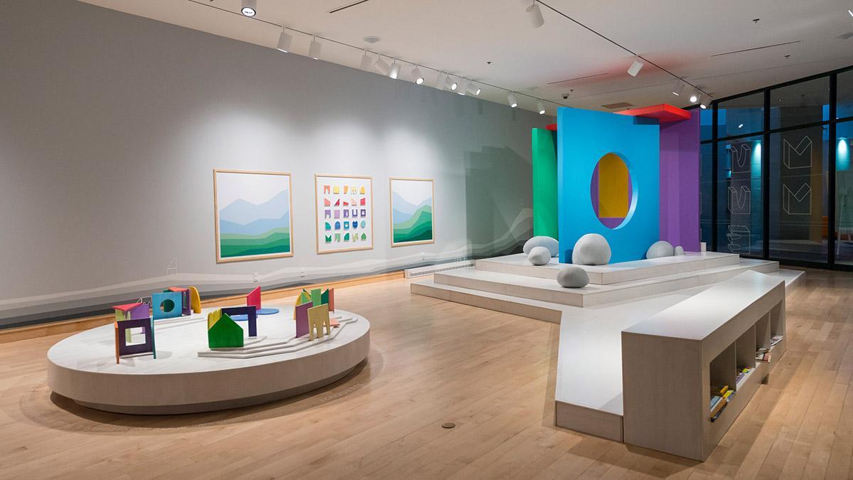 Une exposition pour enfants sur le thème de l'architecture au MNBAQ