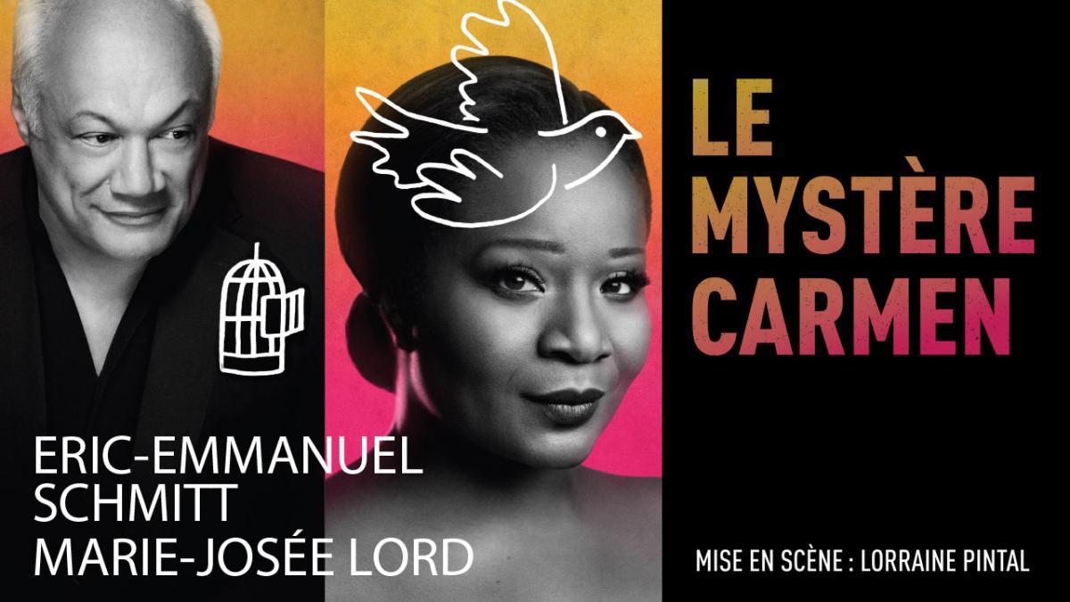 «Le Mystère Carmen» d'Eric-Emmanuel Schmitt en tournée au Québec en avril et mai 2019