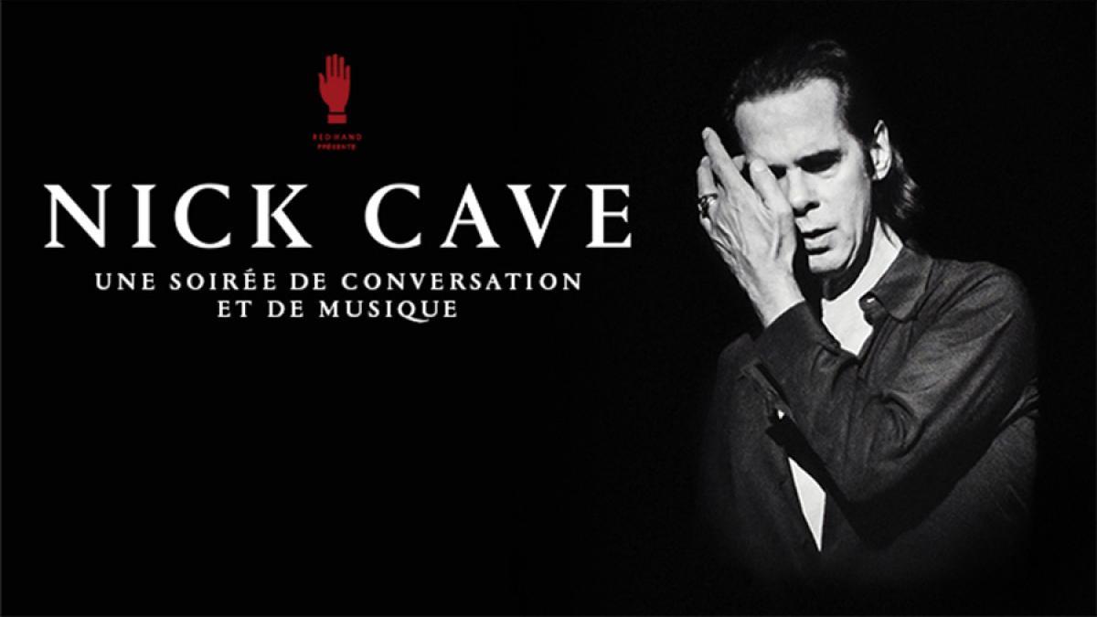 Conversation avec Nick Cave: une soirée de discussion et de musique le 27 septembre