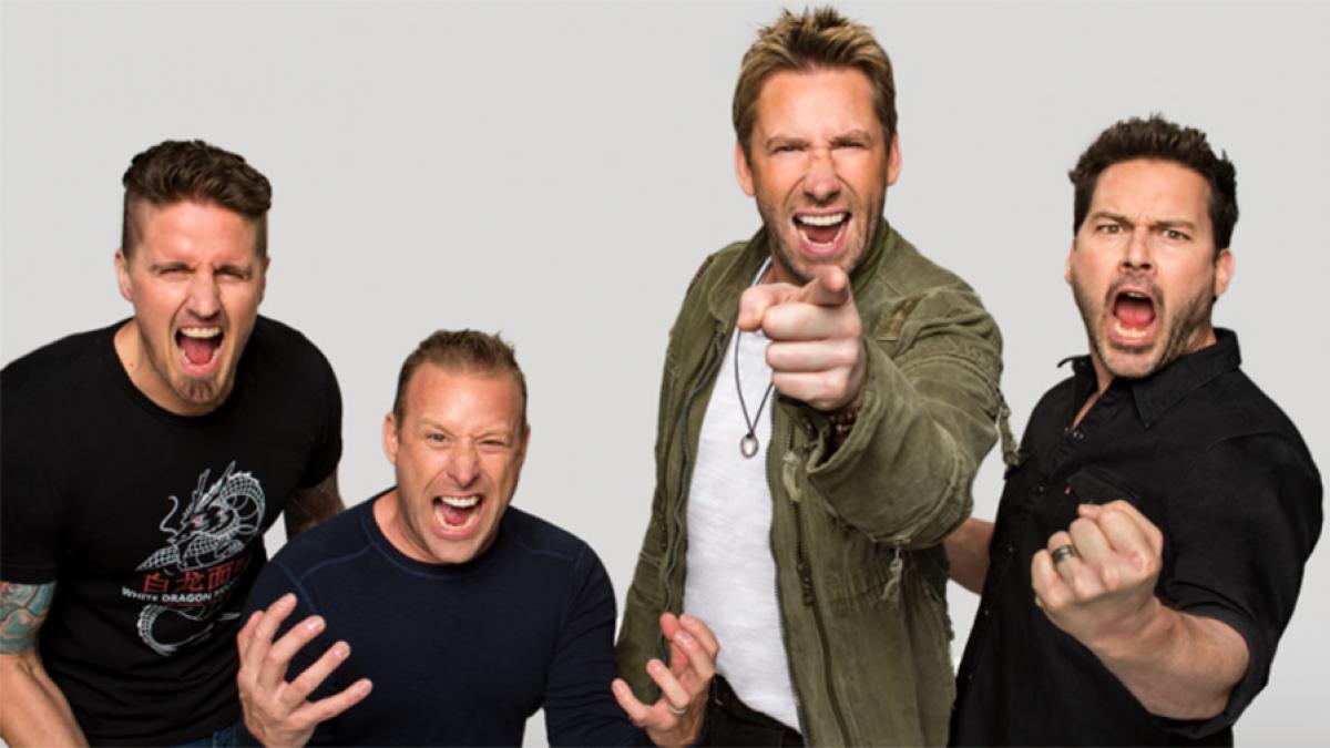 Nickelback sera la tête d'affiche du FMG 2019