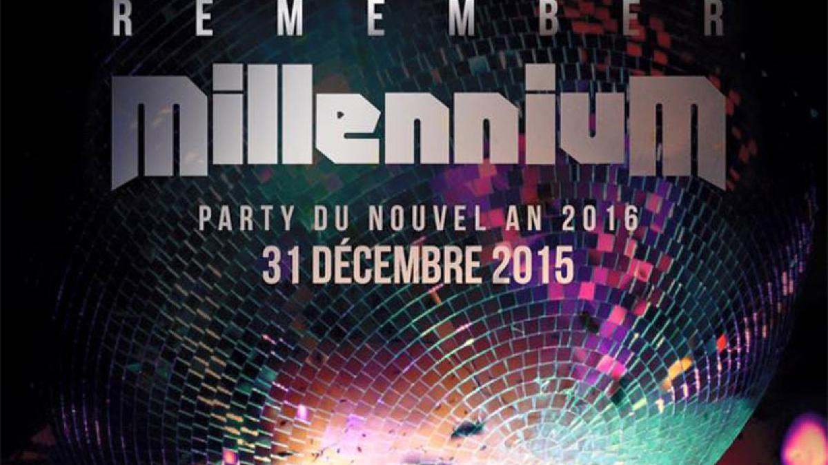 Remember Millenium – Party du Jour de l'An à Laval