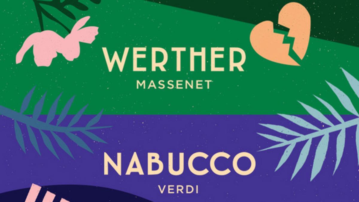 35e saison de l'Opéra de Québec - Werther en octobre et Nabucco en mai