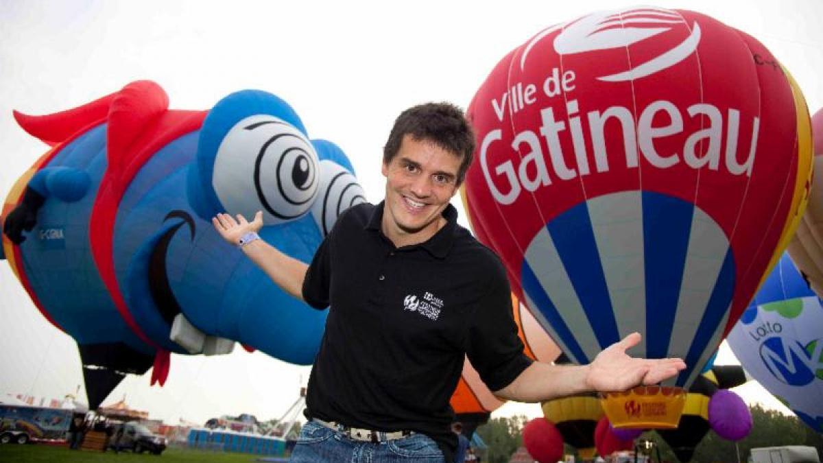 Patrice Bélanger - Festival de montgolfières de Gatineau