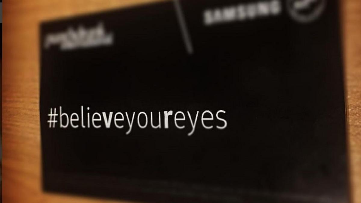 Première canadienne de «Believe Your Eyes» au Centre Phi