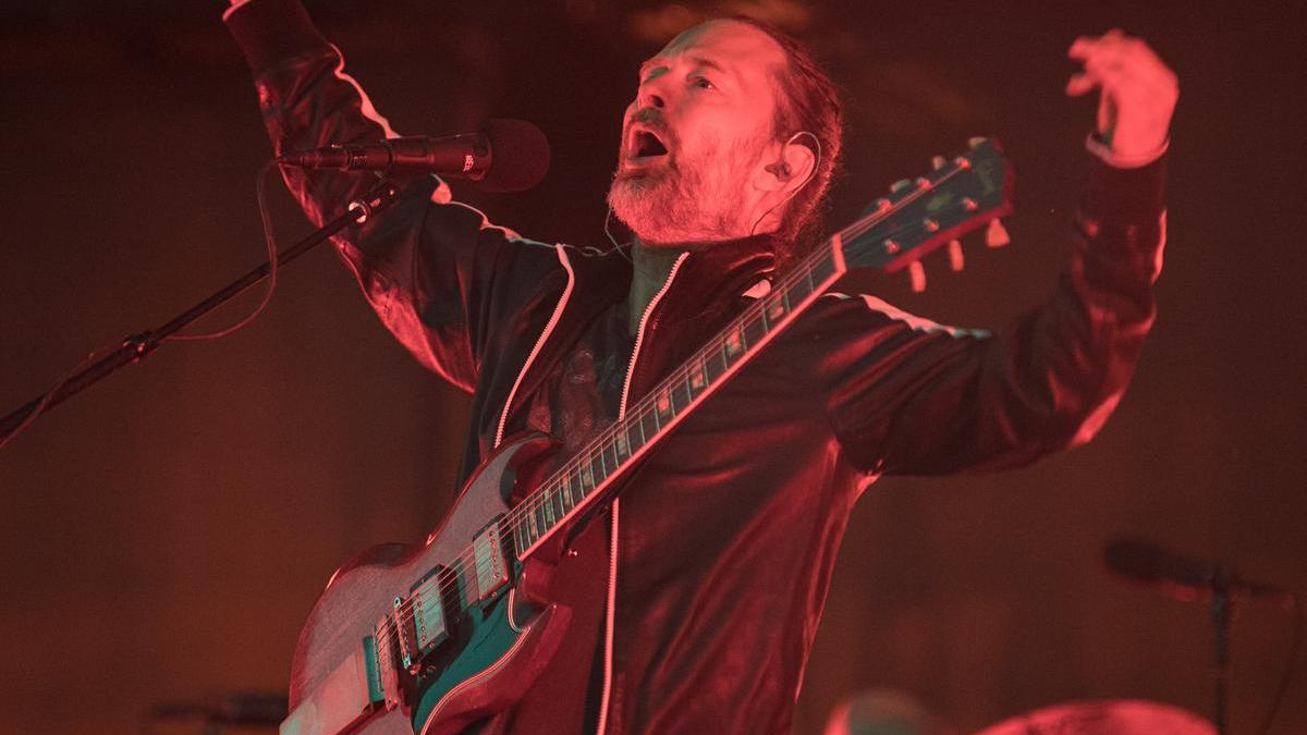 Radiohead - Osheaga 2016 - Photo : Claude Dufresne