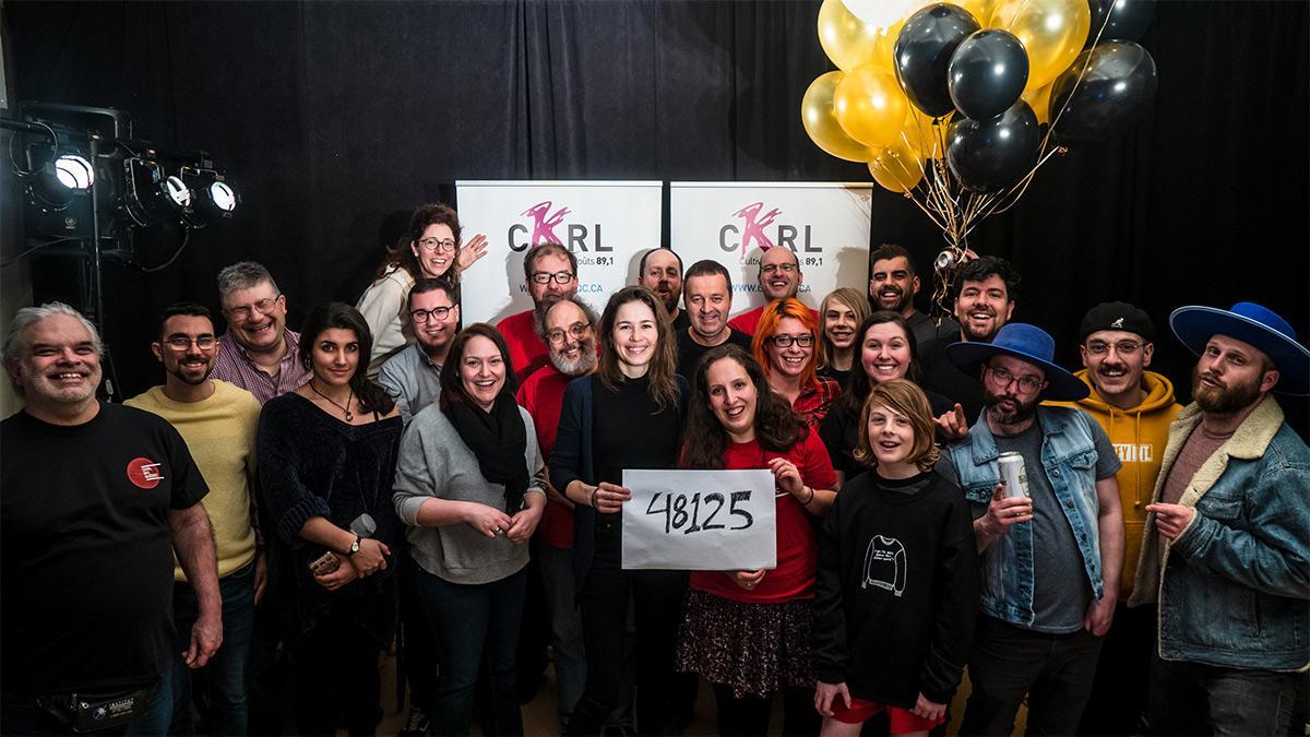 48 125 $ pour le Radiothon 2019 de CKRL 89,1