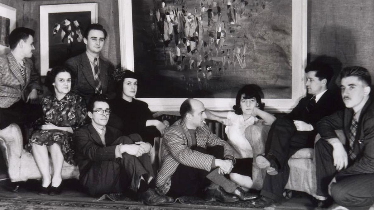 Lancement officiel de l'exposition «Refus Global: 70 ans» à l'Espace musée Québecor