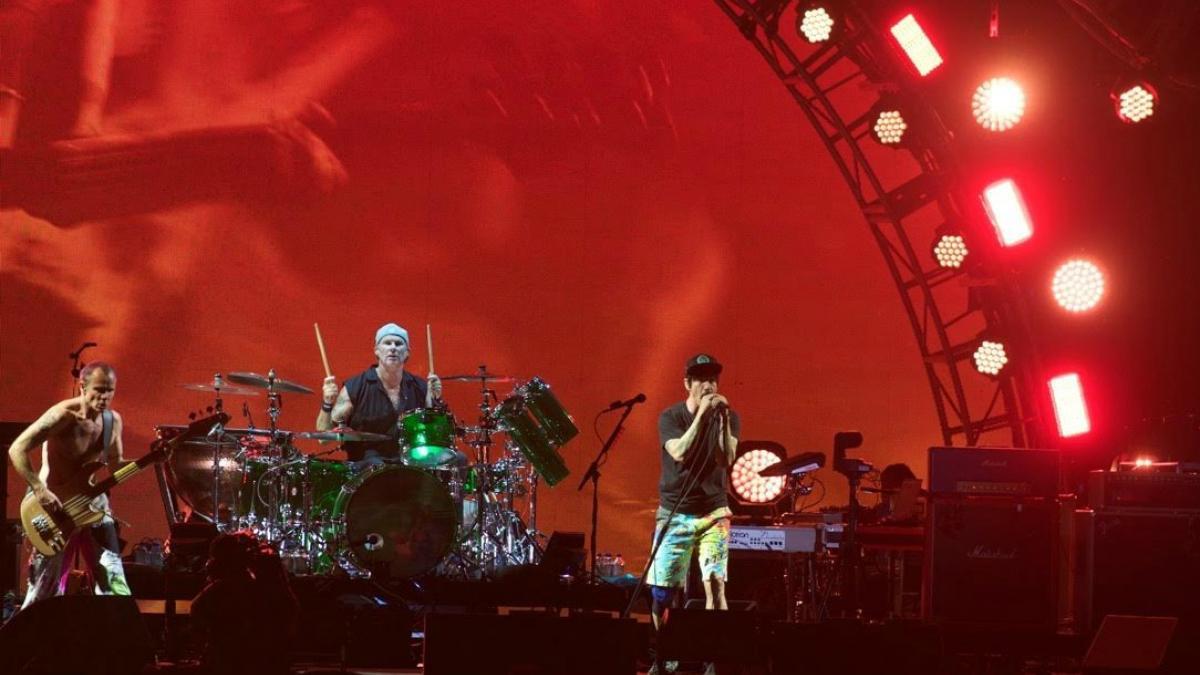 Red Hot Chili Peppers - Osheaga Jour 1