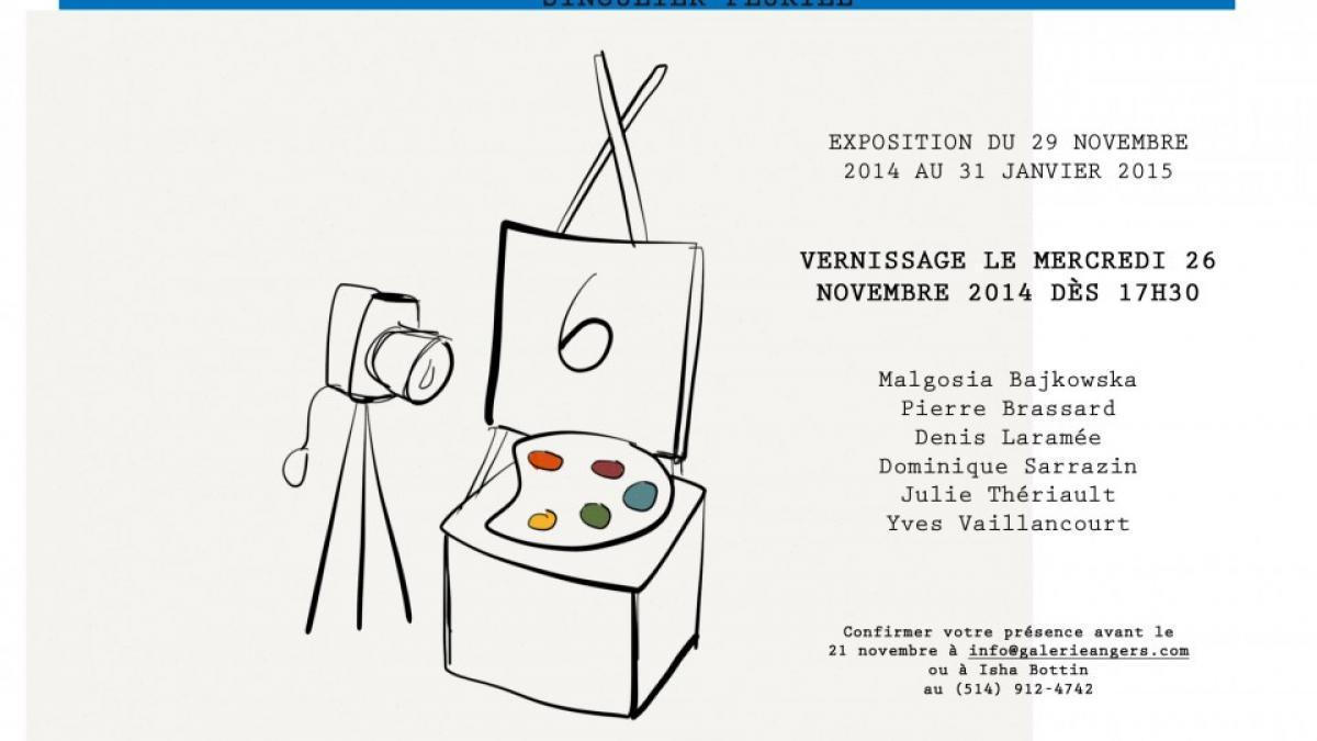 Pierre Brassard se joint à 5 artistes contemporains pour l'exposition «Singulier pluriel»
