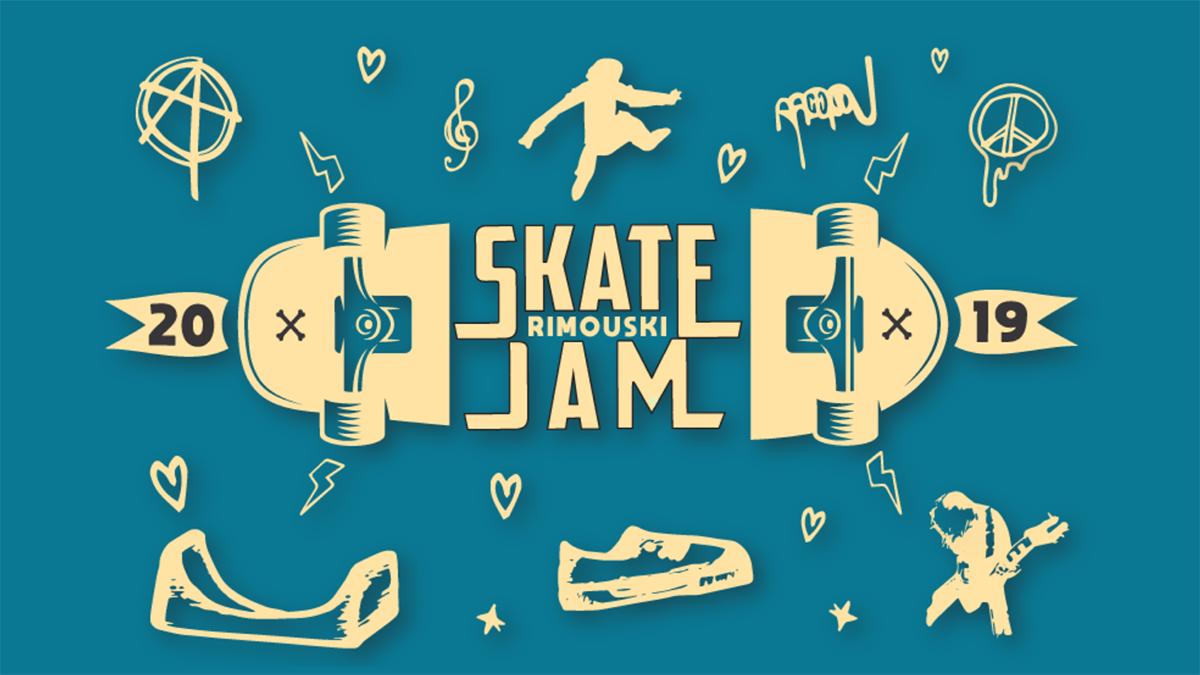 Le Skate Jam de Rimouski dévoile la programmation de sa troisième édition