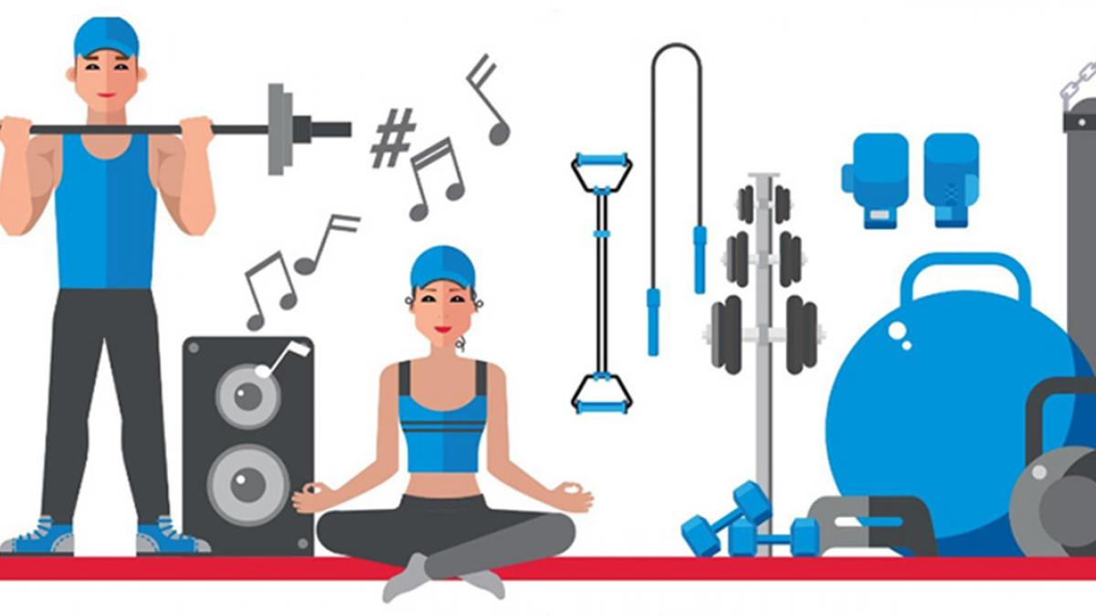La musique en tête de liste des motivations au conditionnement physique
