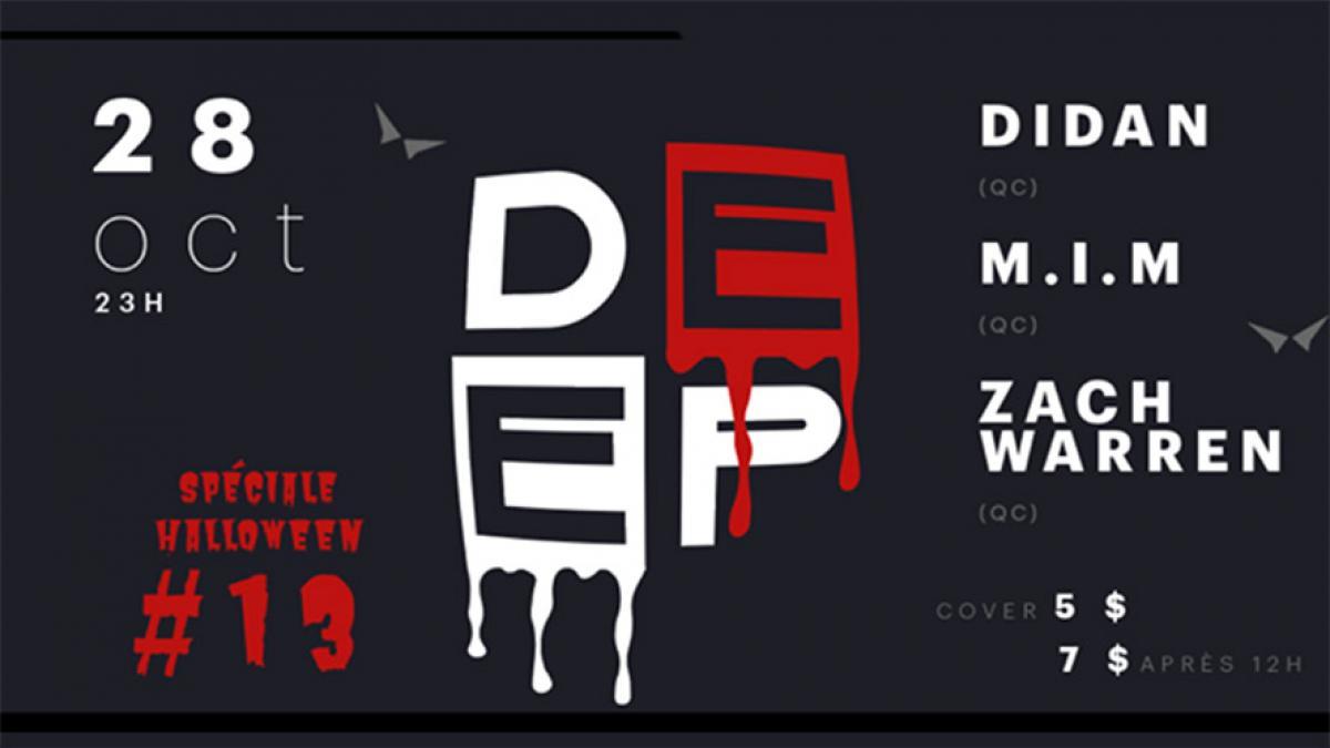 Soirée Deep #13 au sous-sol du Cercle