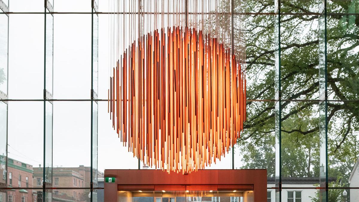Solar Equation - Une installation spectaculaire de Rafael Lozano-Hemmer au MNBAQ