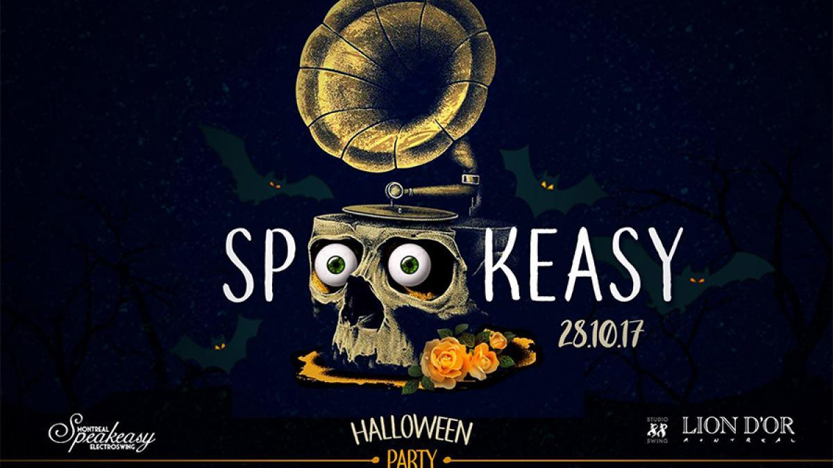 Spookeasy Halloween au Cabaret le Lion d'Or