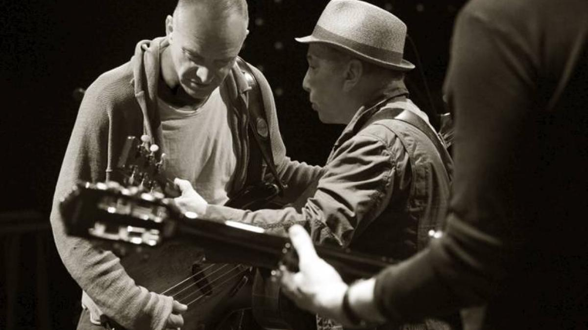 Sting Paul Simon On Stage Together 2014